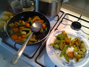 2015 0502 Une pleine assiette de primeurs